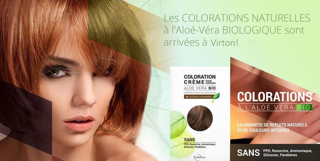 Coloration Naturelle à l'Aloé Véra Bio